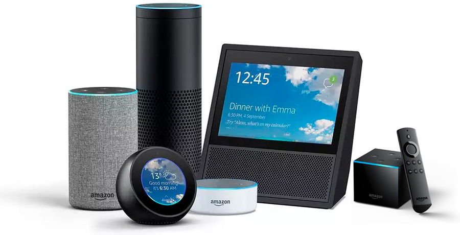Dispositivos Alexa de Amazon