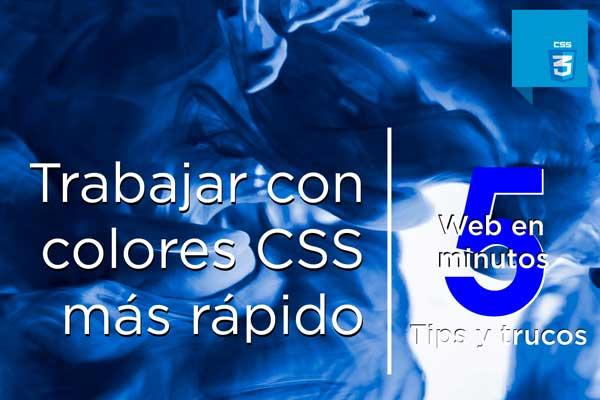 Colores en CSS